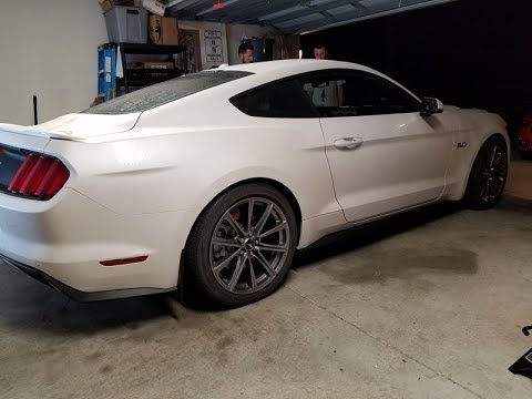 We mod a car for an active duty Mustang GT owner