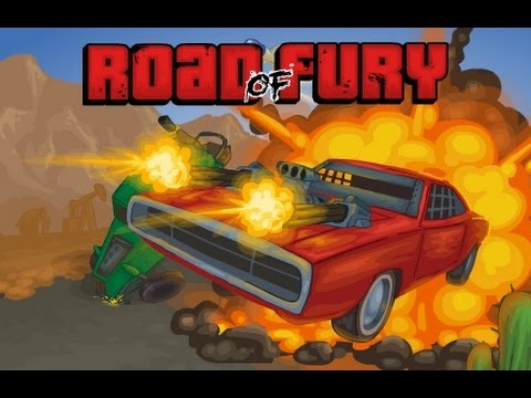 Road Of Fury. To get to the finish line through hordes of enemies;