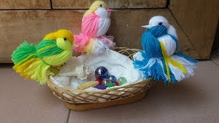 Download Love Birds Woolen Bird By TuberDiary Video