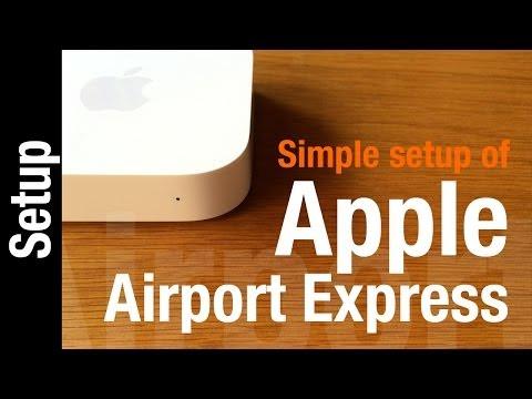 Apple AirPort Express Setup