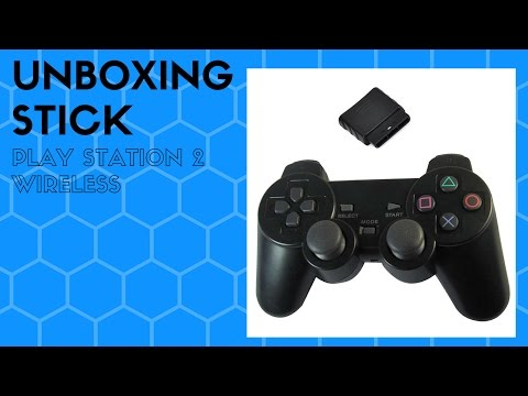 UNBOXING STICK PLAYSTATION 2 WIRELESS