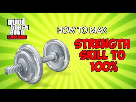 GTA 5 Online - HOW TO MAX STRENGTH TO 100% FAST AND EASY (PS4, Xbox One, PC, PS3, Xbox 360)