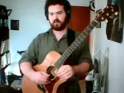 How to play blue crystal fire by Robbie Basho