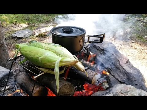 Cooking Outdoor & Refreshing The Camp