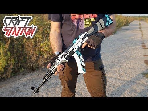HOW TO MAKE AK-47 VULCAN IN REAL LIFE (CS:GO,DIY)