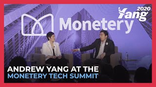 Andrew Yang at the Monetery Tech Summit in Iowa (Full Discussion)