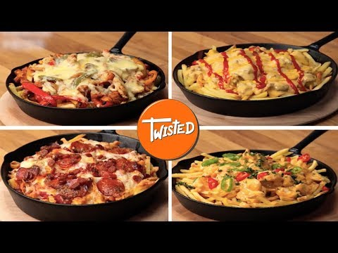 How To Make Loaded Fries 4 Ways | Twisted