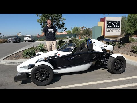 The Ariel Atom Is a $75,000 Street Legal Go Kart