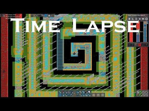 Download Factorio Time Lapse - Spiral Megabase (8K Ultra HD)