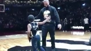 Drake Meets Young Dylan For The First Time After Performing At Drake Night