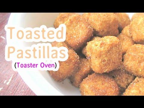 Toasted Pastillas (Toaster Oven)