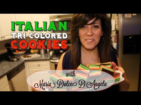Italian Tri Colored Cookies
