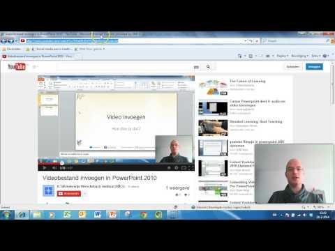 YouTube video in PowerPoint 2010 invoegen