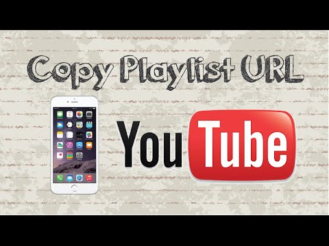 How to copy playlist URL on Youtube Mobile app