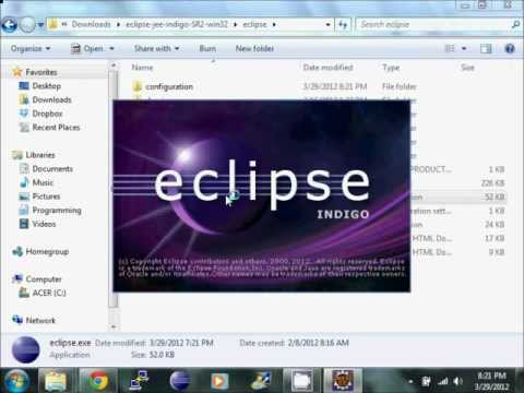 installing eclipse for java ee developers