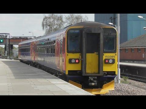 Trains at Nottingham 6/4/17
