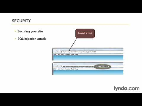 Securing a site ,ecommerce php framework,