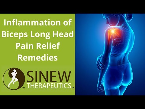 Inflammation of Biceps Long Head Pain Relief Remedies
