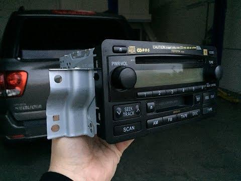 Toyota JBL Radio Mounting Brackets