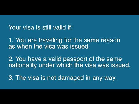 Is My Visa Still Valid If My Passport Has Expired?