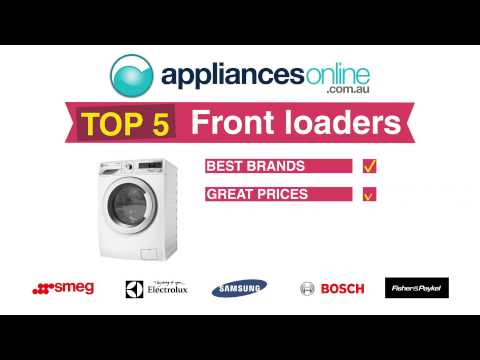 Appliances Online Top 5 Front Load Washing Machines - Choose yours today!