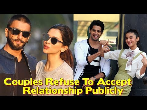 6 Real Life Bollywood Couples Who Refuse To Accept Their Relationship Publicly