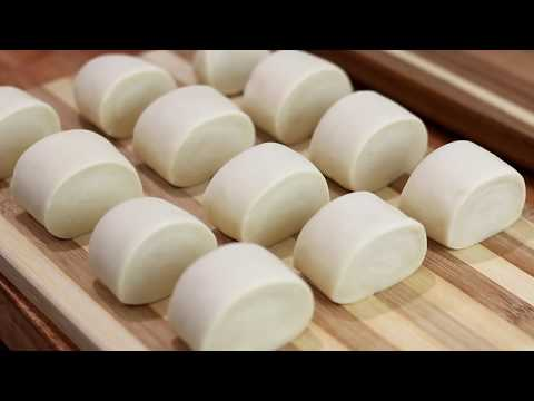 The best steam bun made in stand mixer - spongy, springy and delicious