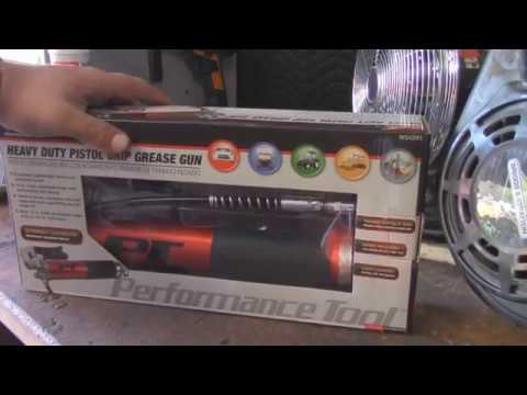 Oreilly Performance Tool Grease Gun Review