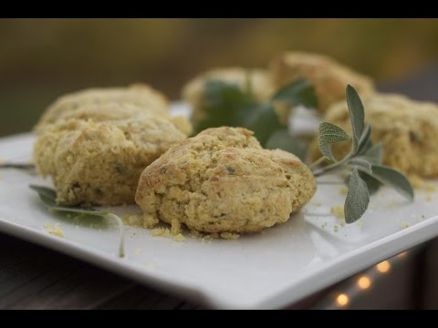 Sage Cornbread Biscuits