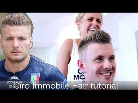 Ciro Immobile Inspired Hairstyle | Men's Football Player Haircut | Tutorial by Slikhaar TV