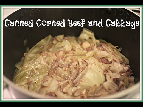 Canned Corned Beef and Cabbage | MsShawiJoy