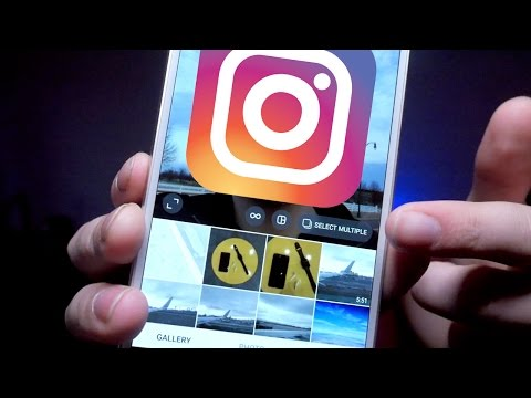 How to post MULTIPLE photos on Instagram NEW UPDATE