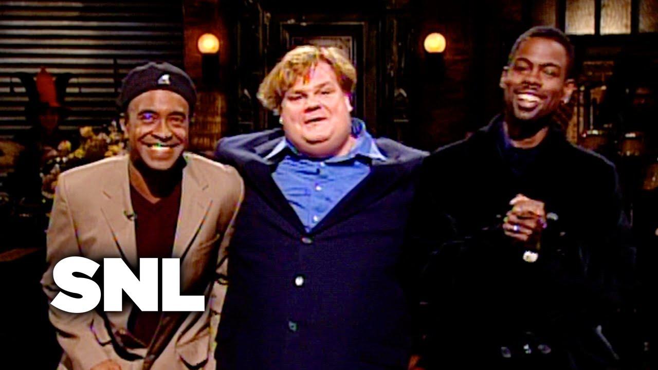 Chris Farley Monologue - Saturday Night Live