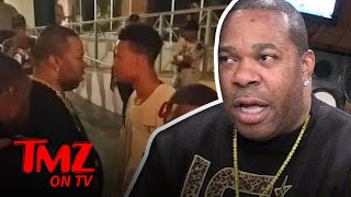Busta Rhymes Loses It When A Fan Confronts Him! | TMZ TV