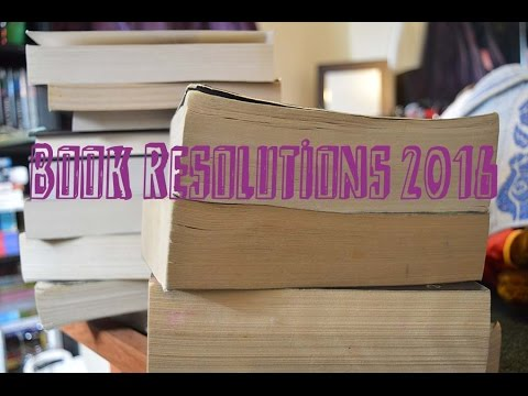 Book Resolutions 2016