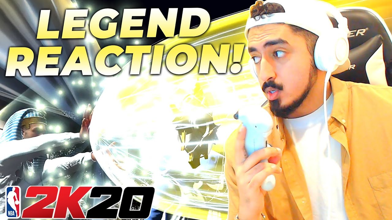 I GOT LEGEND WITH A SHOT CREATOR in NBA2K20! 40 EXTRA BADGES UNLOCKED REACTION