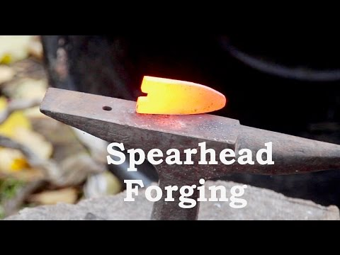 Forging a Spearhead From a File