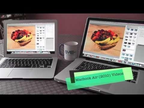 Macbook Air (2010) - Photoshop CS5 Comparison