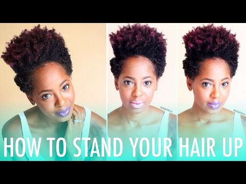 How to Stand Your Coils Up | Natural Hair
