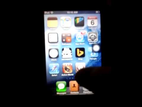 How to jailbreak ipod touch 4th gen no pc!!!!!