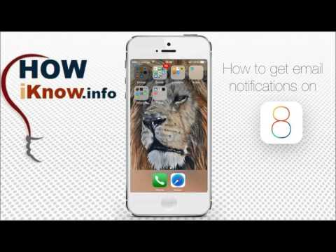 How to get Notifications for Important Emails on iPhone (iOS8)