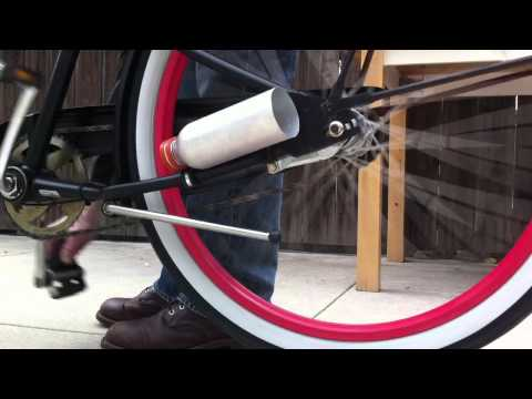 MAKE Soda Bottle Bike Exhaust