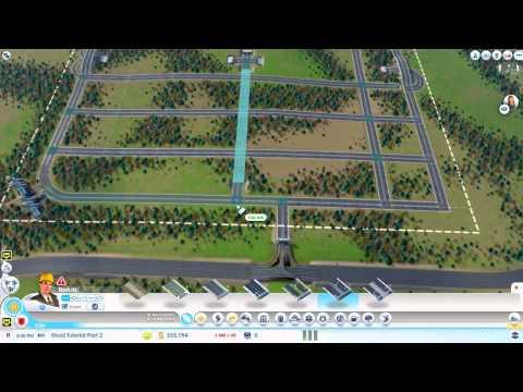 SimCity 5 - Tutorial - Road Tutorial Part 2