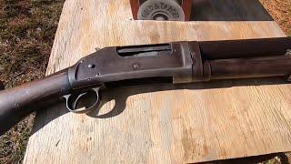 Winchester Model1897 Pump Action Shotgun, Made In 1909