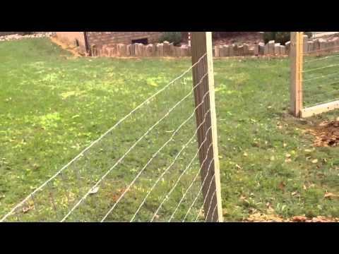Outdoor rabbit pen with roof part 2