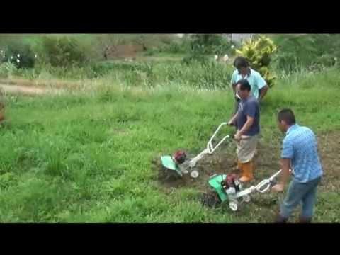 除草兼鬆土 CY50 Garden tiller (4 & 6-rotary tilling blade) weeding & tilling 擎億機械 농업 기계 中耕機
