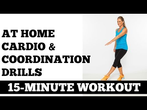 15-Minute Cardio + Coordination, Fat Burning, Agility Improving Workout No Equipment