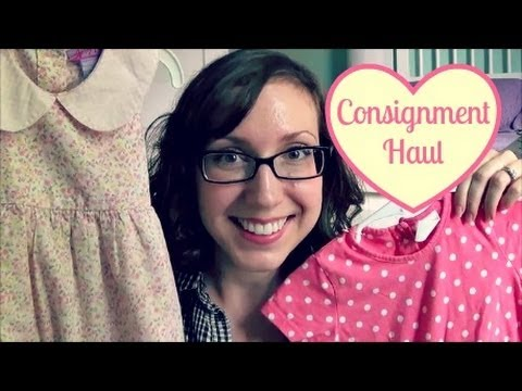 Consignment Haul for Baby Girl