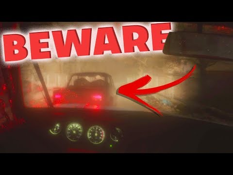 AMAZING CAR PHYSICS! SCARIEST CAR CHASE EVER! - Beware Horror Car Game
