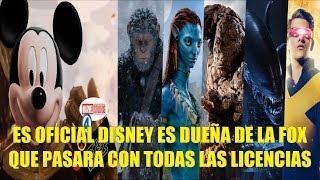 Download Es Oficial Disney es Dueña de la FOX Que Pasara Con Todas las Licencias? Explicacion Video